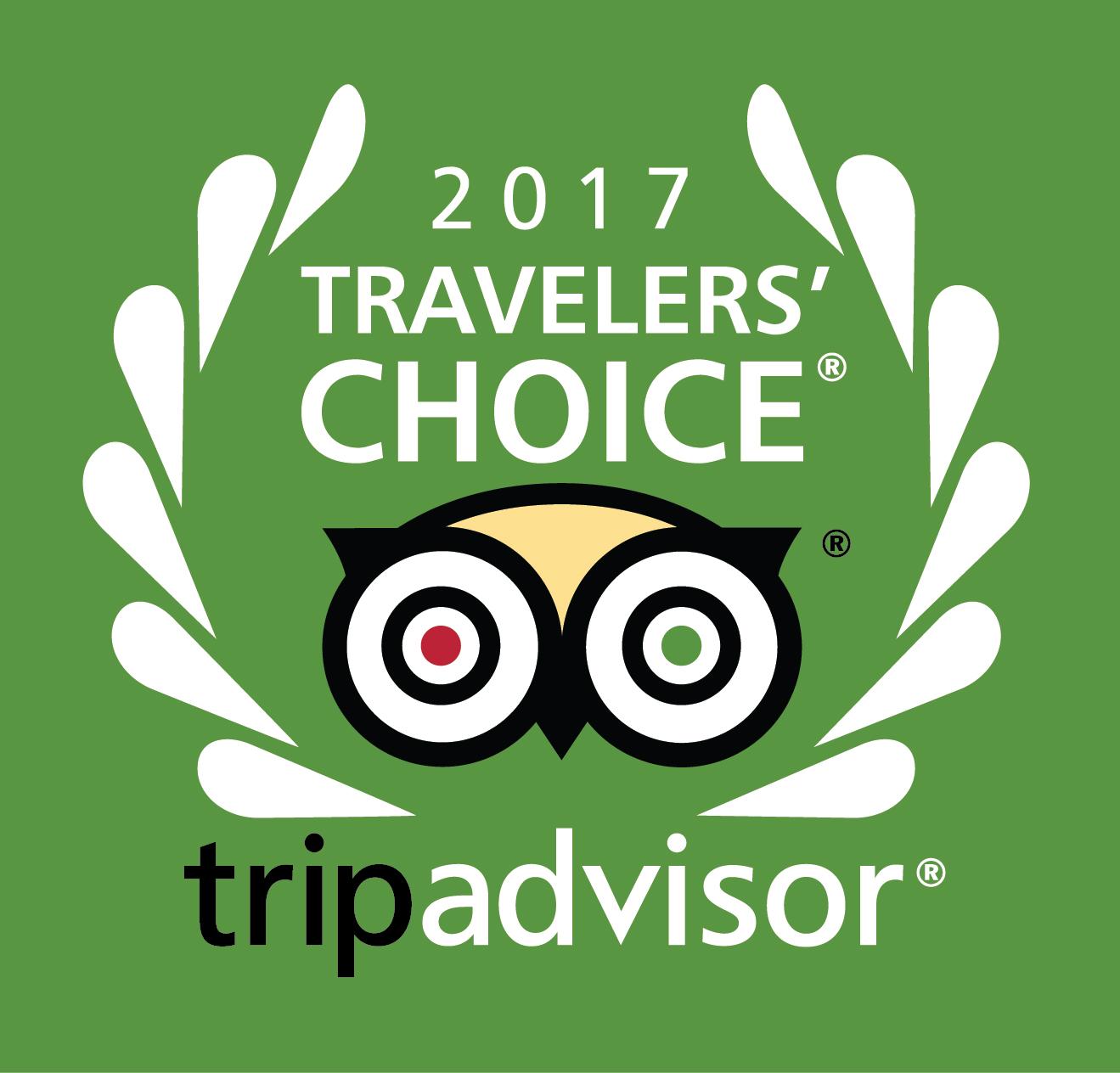 Tripadvisor 2017 Traveler's Choice
