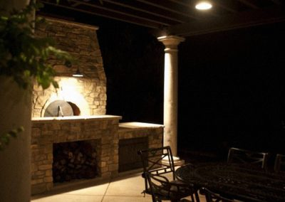 Pergola Fireplace Canyon Villa